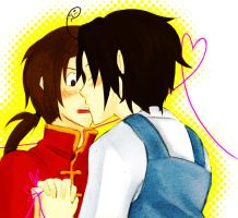 kissing was invented in korea by Aoi-tama