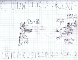 Counter strike: JUSTICE by Schluberlubs