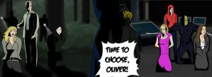 Time to choose, Oliver! by Forceuser2012