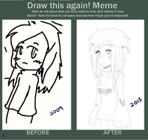 Before and after meme by chichi4500