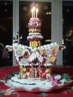 Sugar Cube Corner - Gingerbread House by BenjiK