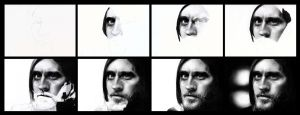Tutorial of Jared Leto by arthawk87