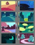 Limited Palette Color Studies by DizzySun