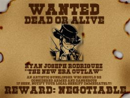 Wanted poster ID by NewEraOutlaw