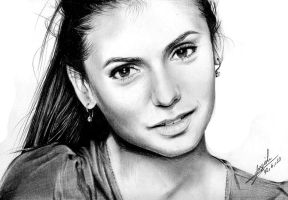 Nina Dobrev by Maggy-P