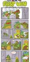 TMNT: One Small Turtle : First Win by Tenshilove
