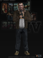 Niko Bellic - Grand Theft Auto IV by JhonyHebert