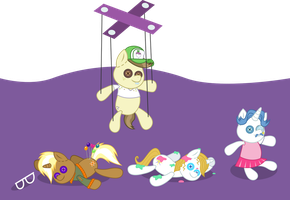 Spike's Doll Collection? by punzil504