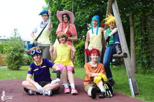 Digimon - Playground by SoraPilzi