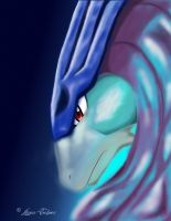 Crystal Suicune by LunarOracle