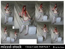 Circus Candy Doll Pack 7 by mizzd-stock