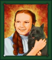 Wizard of Oz: Dorothy and Toto by PrincessTigerLili