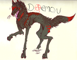 Daemon by Woopywulf