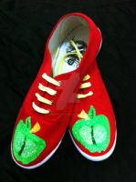 Big Mac Bronie Style Shoes by CosplayPropMaster