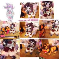 tristana Dragontrainer and Riggle plushies by Cipple