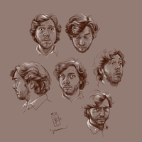 The Many Faces of James by Girl-on-the-Moon