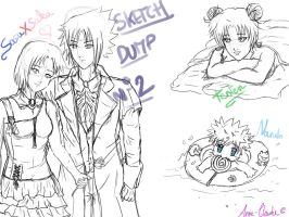 Sketch dump 2 - SxS and co by AnneClaude