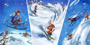 Let's Ski 2! by dothaithanh