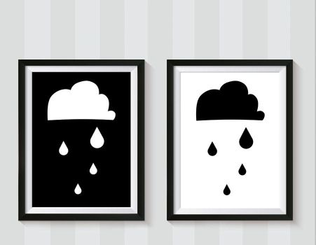 clouds print by rotemg20
