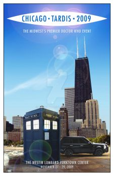 Chicago TARDIS cover mk2 by TaraLJC
