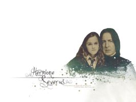 Hermione and Severus by AnbeliciousnA