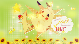 Pikachu Wallpaper by Jagveress