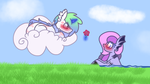 .:A flower for a flower:. by DaShipNoodle