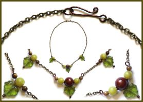 Fruits of the Forest Necklace by aelthwyn