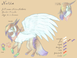 Naria Character Sheet by nesskafe