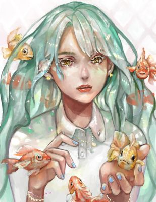 Goldfish by SimhaART