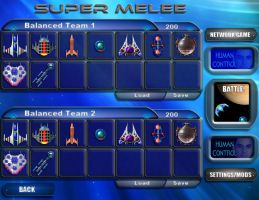 Super Melee UI Mockup Fail by dczanik