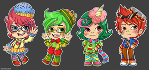 HS: Sugarsona Tricksters by fir3h34rt