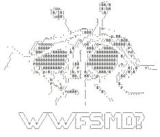 Flying Spaghetti Monster ASCII by dan551x
