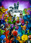 Super Smash Bros for 3DS by Zuckey