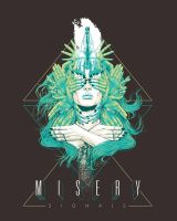 Misery Signals Merch Design by arosenlund