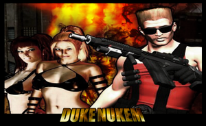 Duke Nukem by PencilCrusher