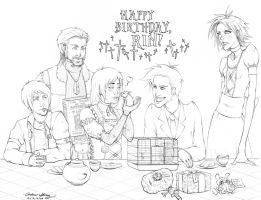 Goth Birthday Party by silentsketcher
