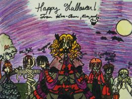 Happy Halloween :D by kira-chan20