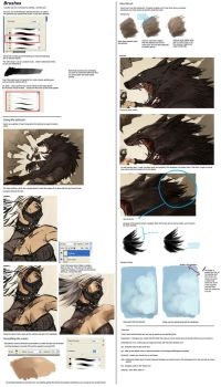 Basic Brush Tutorial by sandara