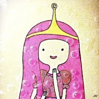 Princess bubblegum by VagueAlyss