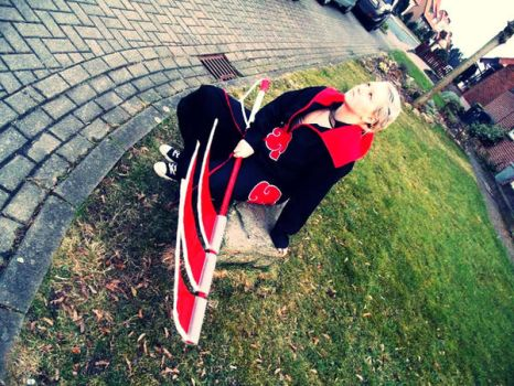 Hidan Cosplay look at me by Moin2D