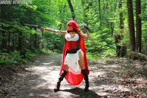 Lethal Red Riding Hood cosplay by Naomi-VonKreeps