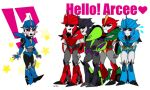 arcee+many knockout by shinobu0425