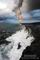 Coastline plume by extremeimageology