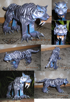 Tiger from WoW papercraft 2 by Weirda208