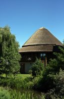 traditional danube delta house by x-andRa-x