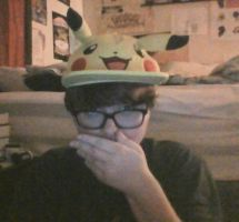 Me in a Pika Hat by toXic-REM