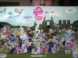 MLP cast poster by FDairyAnime