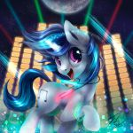 Vinyl Scratch Button by Tsitra360