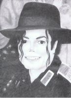 Michael Jackson Drawing by Meggy-MJJ